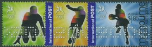AUS SG2596-8 Commonwealth Games, Melbourne (2nd issue) set of 3